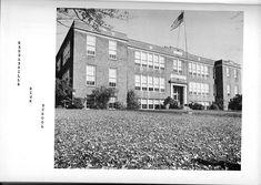 Hedgesville, West Virginia, Berkeley County, West Virginia, Hedgesville High School 1950's. West Virginia