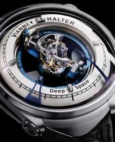 Vianney Halter Deep Space Tourbillon watch men