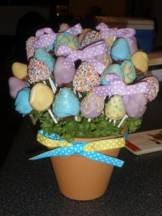 reminds me of easter...maybe an easter fruit bouquet. hmm...