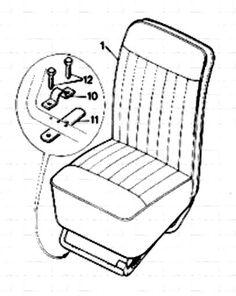 Morris Minor Components Of The Body (Series MM--4-Door). v