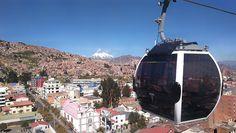 Teleferico en La Paz, Bolivia 🇧🇴 Bolivia, Travel Memories, Instagram, La Paz