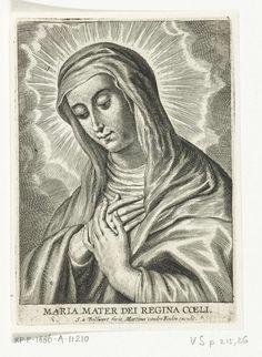 Schelte Adamsz. Bolswert   Maria, Schelte Adamsz. Bolswert, Peter Paul Rubens, Martinus van den Enden, 1596 - 1659  