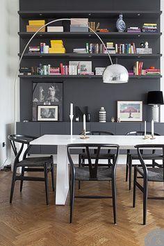 Black & White Living Spaces  | Fonda LaShay // Design → more on fondalashay.com/blog