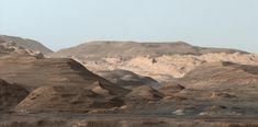 Foto: a magnífica paisagem do Monte Sharp, em Marte   HypeScience