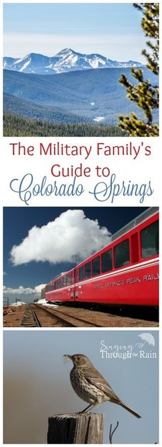 Since so many military families get stationed in Colorado or come through to visit, here is my guide (filled with beautiful pictures) for all the places you must see, and things you must do in Colorado Springs.
