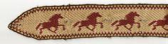 Tablet Weaving by Lise Ræder Knudsen - Icelandic horses
