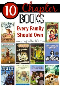10 Chapter Books Every Famiy Should Own