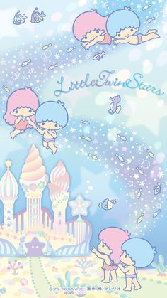 【2016.08】★Wallpaper ★ #LittleTwinStars