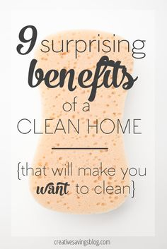 SO TRUE, Keep a clean home. These 9 surprising benefits will completely change your perspective on cleaning in general, and by the time you`re done reading this post, you will want to establish a regular cleaning routine right away! Deep Cleaning Tips, House Cleaning Tips, Natural Cleaning Products, Cleaning Solutions, Spring Cleaning, Cleaning Hacks, Diy Hacks, Weekly Cleaning Checklist, Car Cleaning