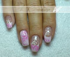 French nails airbrush