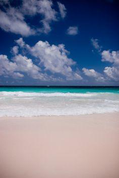 Pink Sands Beach Harbour Island Bahamas weird beaches