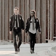 Rick & Michonne - The Walking Dead season 5