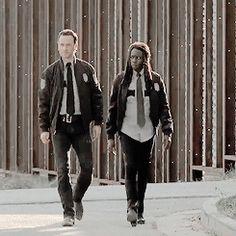 Rick & Michonne - The Walking Dead season 5
