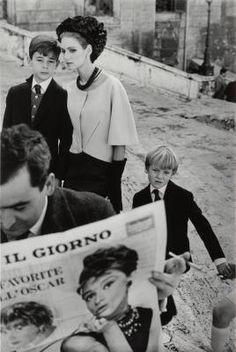 Frank Horvat  1962 Rome, Deborah Dixon for Harper's Bazaar