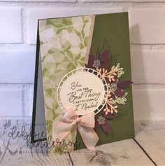 Debbie's Designs: February Floral Romance Suite Tutorial using Stampin' Up! Romance, Stamping Up Cards, Paper Pumpkin, Sympathy Cards, Flower Cards, Paper Design, Design Cards, Creative Cards, Greeting Cards Handmade