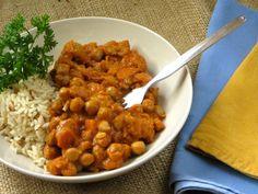 Vegan Chickpea Coconut Curry