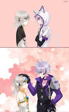 Kawaii Add and Eve