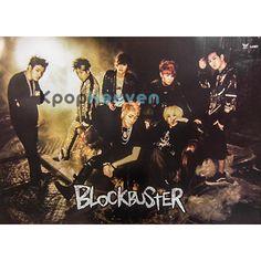 Poster Size: 29 x 20 in.  Idols Featured: Zico, Taeil, B-Bomb, Jaehyo, U-Kwon, Kyung, P.O