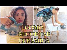 DIY / FAÇA VOCÊ MESMO / COMO FAZER RECORTE DE CERÂMICA COM MAQUITA - YouTube