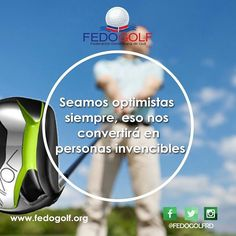 Siempre se optimista.  #fedogolfRd #golf #instagolf #swing #grass #green #field #putter #hoyo #RD #DominicanRepublic #sport #deporte #Backspin #bola ##fairway #draw #driver #finish #felizjueves