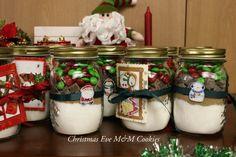 M Cookies in a Jar