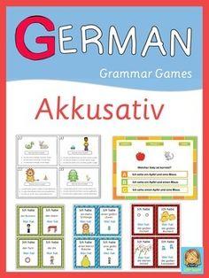 German Grammar Games - Akkusativ #checkitout Hashtags: #MaVi #Grammar
