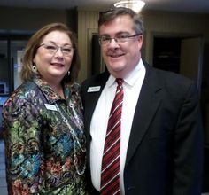 Executive Director, Gail Haller and Mayor Marty Maloney.