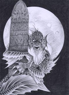 Dagon 90 years by verreaux.deviantart.com on @DeviantArt
