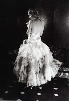 1928 #Vogue, #Chanel Dress