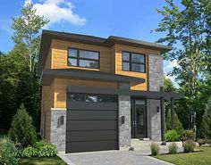 Maison Carré, Maison A Etage, Maison Moderne, Petite Maison, Plan Maison,