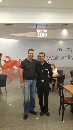 Doppio Zero's MD, Paul Christie paid the new Egypt store a visit. Egypt, Zero, Company Logo, Store, Logos, Larger, Logo, Shop
