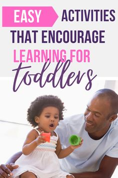 Easy toddler learning activities for busy parents. Use toddler playtime to promote learning and development in all areas including language, cognitive, and motor skills. Activities For 1 Year Olds, Fun Activities For Toddlers, Infant Activities, Family Activities, Toddler Development, Encouragement, Activity Ideas, Craft Ideas, Language