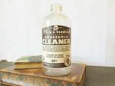 Vintage Diximaid Household Cleaner Bottle  by LavishMaidenVintage $19.00 https://www.etsy.com/listing/220370012/vintage-diximaid-household-cleaner