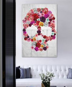 Bed of Roses Canvas Wall Art