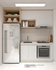 Have a look at this remarkable basement laundry - what an ingenious design Kitchen Room Design, Kitchen Interior, Kitchen Decor, Deco Studio, Small Apartment Kitchen, Compact Kitchen, Kitchenette, Kitchen Furniture, Home Kitchens