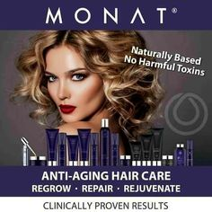 The results are in the hair!!! Once you go #MONAT, you'll NEVER go back! #WerkIt #MONATGlobal
