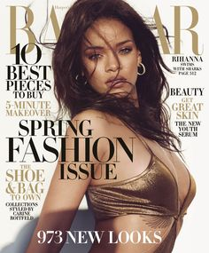 Rihanna covers the March issue of Harper's BAZAAR. See the full fashion shoot here:
