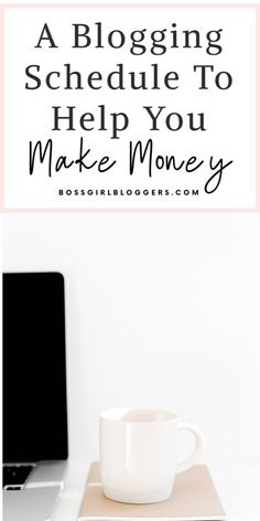 A blogging schedule to help you time manage your tasks and make money blogging. How I plan my time as a blogger. A content schedule for bloggers. #timemanagement #contentschedule #schedule #blogschedule #makemoneyblogging