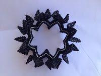 zia lola beads it: winged beaded bangle