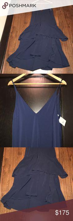 KEEPSAKE the Label Dress - New! Gorgeous navy dress by Keepsake. Hidden rear zipper. Purchased at Nordstrom. KEEPSAKE the Label Dresses Asymmetrical