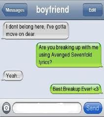 best way to break up with a girl