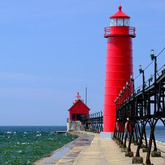 """Life among the historic storefronts, along the bustling waterfront's boardwalk of this town on Lake Michigan's eastern shore has an old-fashioned spirit that stands out among so many gems. Known as """"Coast Guard City, U.S.A.,"""" Grand Haven's embrace of ever"""