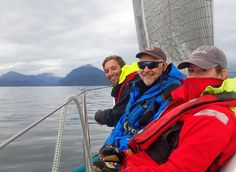HHCrew in Bowen Island, BC.  Love the colorful sailing jackets!  Photo from @ frnchfrytrvls Instagram