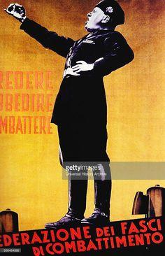 Il Duce Fascist Poster