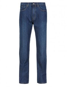 M&S Collection Big & Tall Regular Fit Washed Look Stretch Jeans