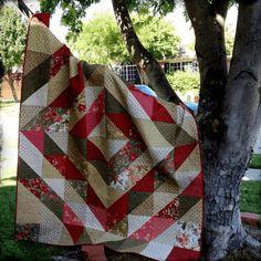 I love quilting Patchwork handicrafts Book: Square Rectangle Quilt-Tutorial