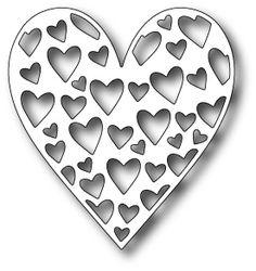 Wykrojnik - Memory Box - Bundle Heart 99328 serce