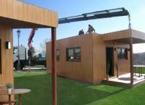 Bungalows económicos, modulares, prefabricados, ecológicos y de madera –…