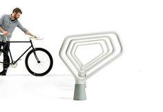 FGP Bike Rack  http://www.landscapeforms.com/en-US/product/Pages/FGP-Bike-Rack.aspx