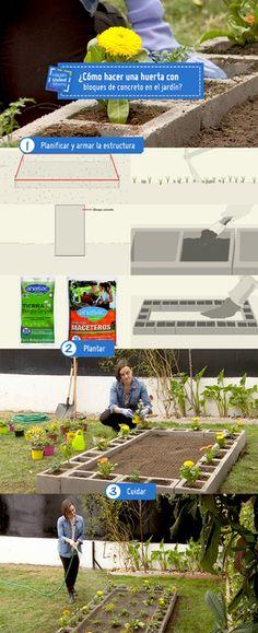 ¿Listos para apoderarse del jardín? te enseñamos como hacer una huerta con…